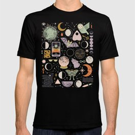 Lunar Pattern: Blue Moon T-shirt
