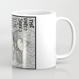 United States of the Upside Down Coffee Mug