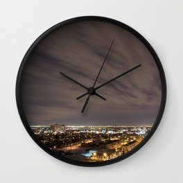City Nights. Wall Clock