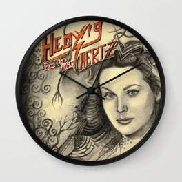 Hedwig and the angry Hertz Wall Clock