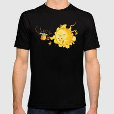 Moonshine Black SMALL Mens Fitted Tee