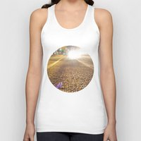 vancouver Tank Tops featuring Dunsmuir Vancouver by RMK Photography