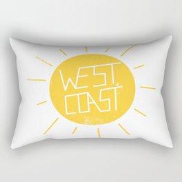 West Coast Sun Rectangular Pillow