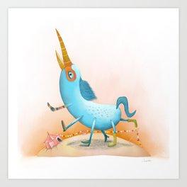 Bihorse Art Print