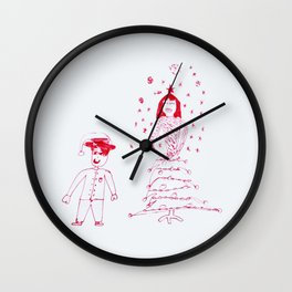 Christmas fashion Wall Clock