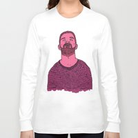 the dude Long Sleeve T-shirts featuring Dude by rbengtsson