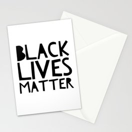 Black Lives Matter 2 Stationery Cards