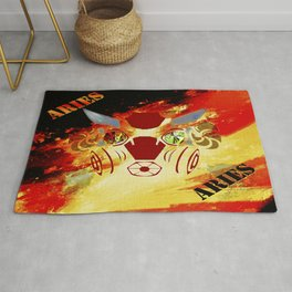Birth Sign Aries Rug