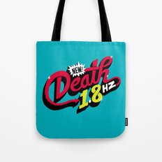 Death Frequency Tote Bag
