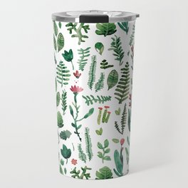 white pure nature Travel Mug