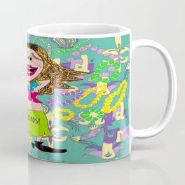 Boobs for Beads, a Mardi Gras tradition! Coffee Mug