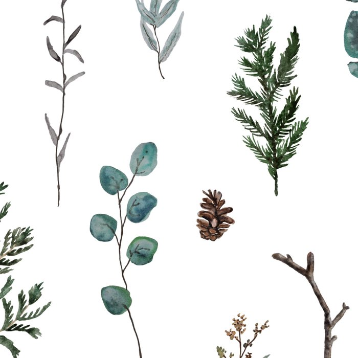 Pine and Eucalyptus Leggings