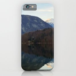 Lake Bohinj, Bohinjsko jezero, Slovenia iPhone Case