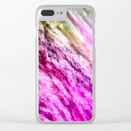 there is unrest in the forest... Clear iPhone Case