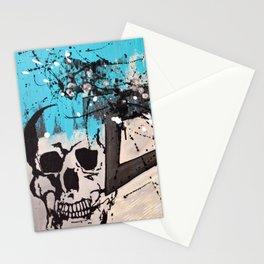 Pipe Dream Skully Stationery Cards