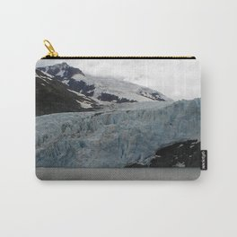 TEXTURES -- A Face of Portage Glacier Carry-All Pouch