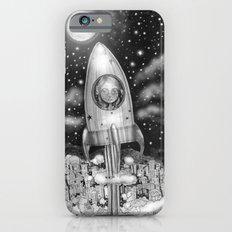 Running Away From Home In A Rocket Ship iPhone 6s Slim Case