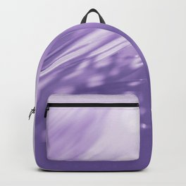 Ultra Violet Palm Tree Pattern| Trendy color of year 2018 Backpack