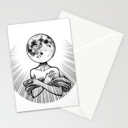 Moonhead Stationery Cards