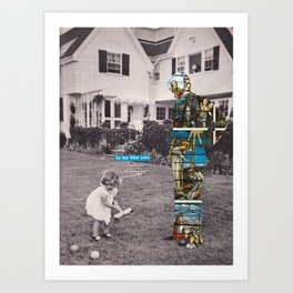 Kennedy 1 Art Print