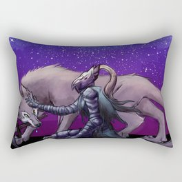 Artorias and Sif Rectangular Pillow