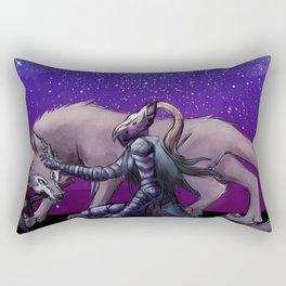 Artorias and Sif Rectangular Pillow