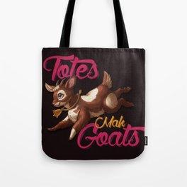 Totes Mah Goats (Dark Version) Tote Bag