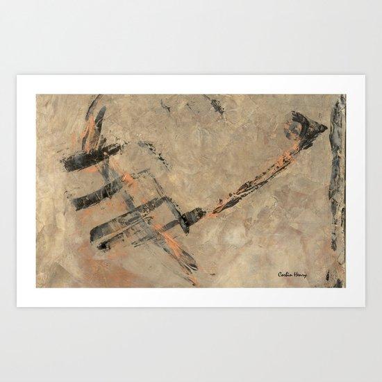 Ancient Storm Art Print