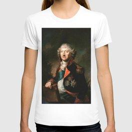 Angelica Kauffmann - Portrait of Michał Kazimierz Ogiński T-shirt