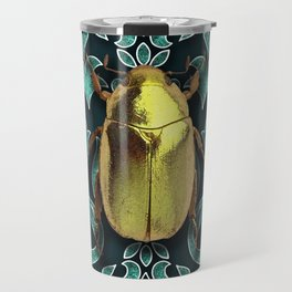GOLDEN BEETLE Travel Mug