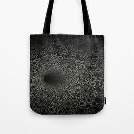 Dark Abyss Tubular Mandalas 3 Tote Bag