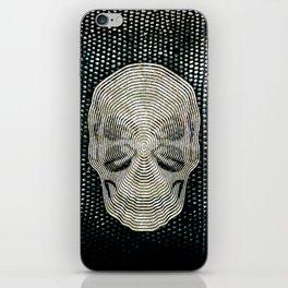 Twilight 4 Eyes Skull iPhone Skin