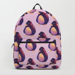 pink penguin Backpack