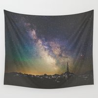 luke hemmings Wall Tapestries featuring Milky Way IV by Luke Gram