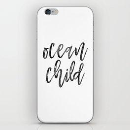 Ocean Child iPhone Skin