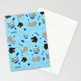 Yuri on Ice Podium Family Pattern Stationery Cards