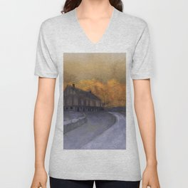 At Just Dawn Unisex V-Neck