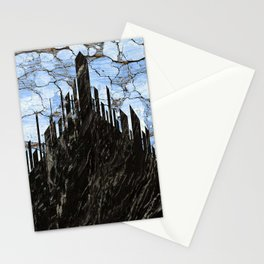 marble city Stationery Cards