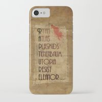 bioshock iPhone & iPod Cases featuring Bioshock - This is Rapture by Art of Peach