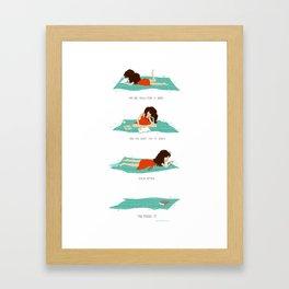 Happy Endings Framed Art Print