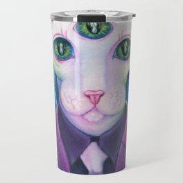 Kitty like light Travel Mug