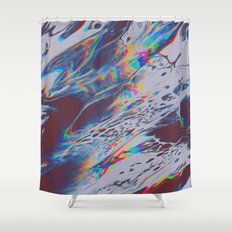 IT SEEMS LIKE ONCE AGAIN YOU'VE HAD TO GREET ME WITH GOODBYE Shower Curtain