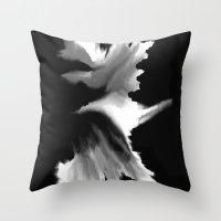 big bang Throw Pillows featuring Big Bang by Robert Morris