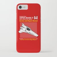 battlestar iPhone & iPod Cases featuring Viper Mark II Service and Repair Manual by adho1982