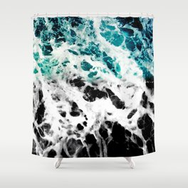 Half-A-Wake Shower Curtain