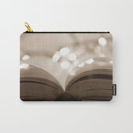 Open Book Carry-All Pouch