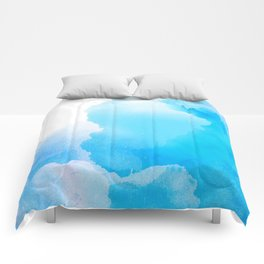 Cloud Blue Comforters