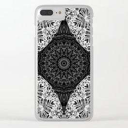 Mandala Mehndi Style G474 Clear iPhone Case