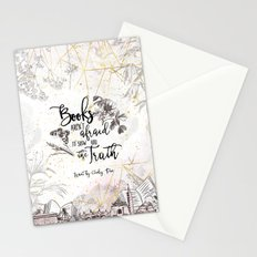 Want - Books Aren't Afraid Stationery Cards