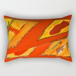 Red Tosca by Gabriele Müller Rectangular Pillow